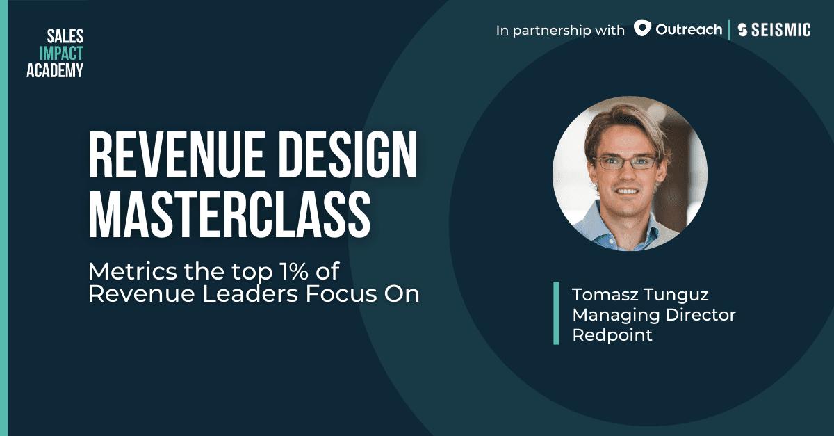 Revenue Design Masterclass