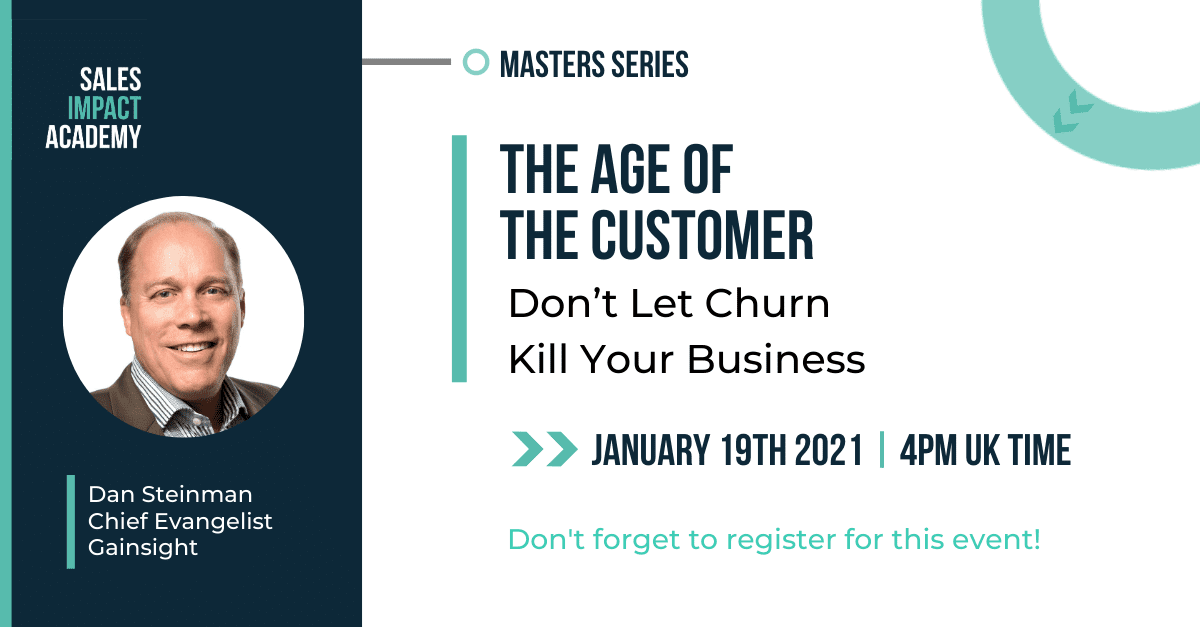 EVENT: The Age of the Customer: Don't Let Churn Kill Your Business