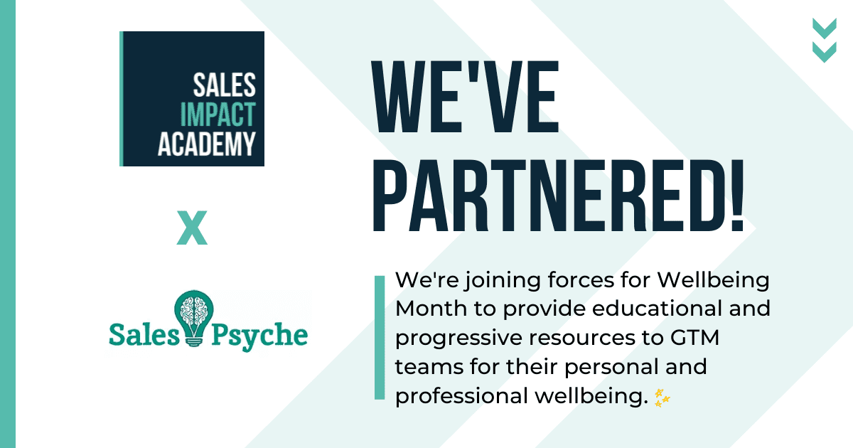 We have partnered with Sales Psyche