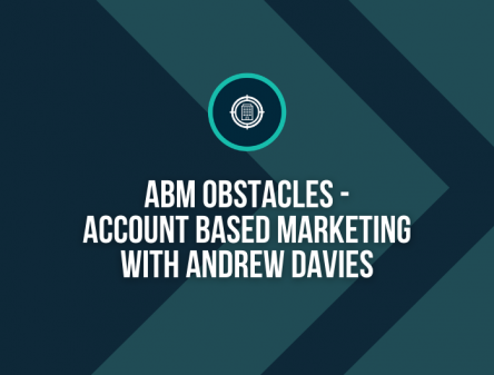 ABM Obstacles with Andrew Davies