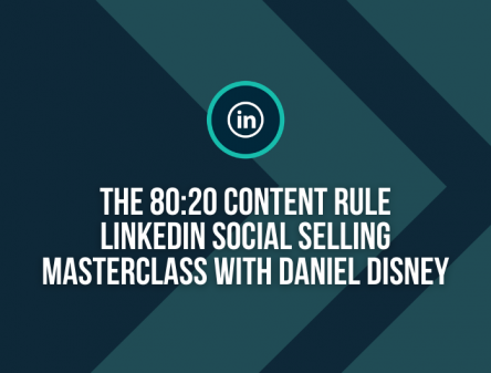 80:20 Content Rule with Daniel Disney