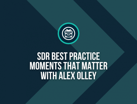 SDR Best Practice with Alex Olley